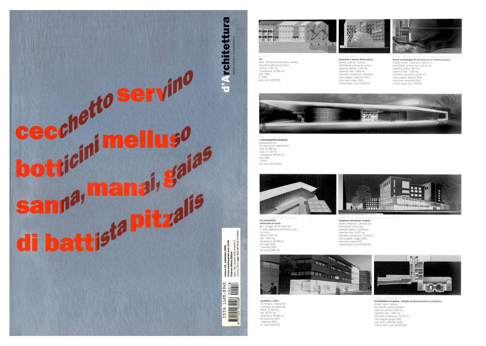 D'Architettura N°18 - Settembre 2002, pag. 61