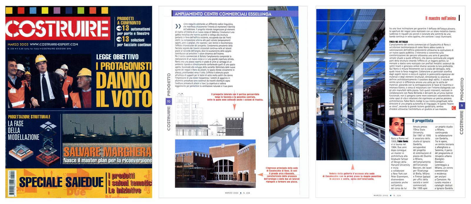 Costruire n°226, marzo 2002, pagg.da 66 a 71