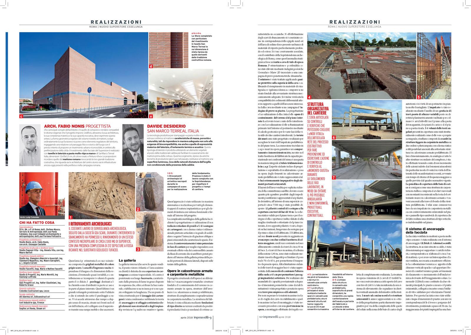 Imprese Edili, n°3, aprile 2018, anno XXVIII