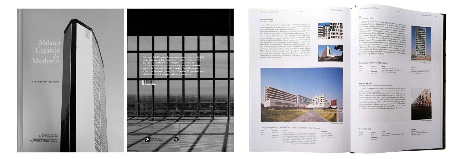 Milano Capitale del Moderno, a cura di Lorenzo Degli Esposti, p.564, 2018