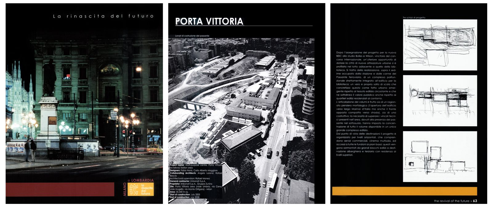 """""""La rinascita del futuro"""", catalogo mostra Road Show internazionale, Regione Lombardia, a cura di C. Bolognesi, 2005"""