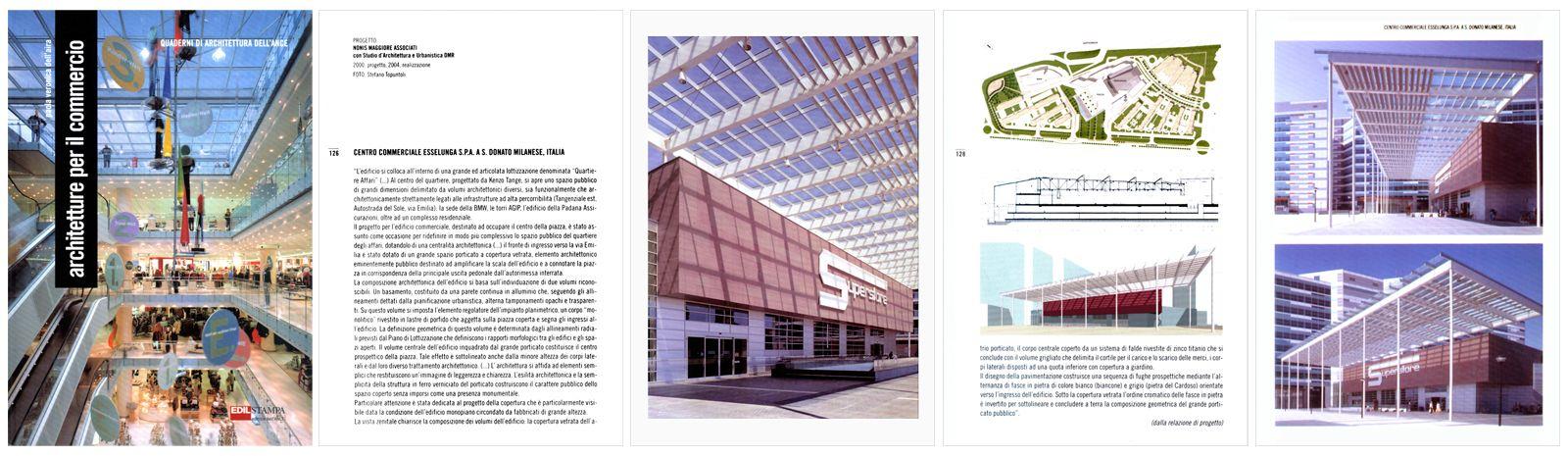 """""""Architetture e commercio"""", il commercio e le sue forme, Quaderni di architettura dell'Ance, Edilstampa, 2005"""