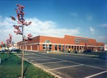Foto dell'edificio prima dell'ampliamento