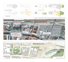 Schemi comparativi tra stato di fatto e di progetto | Qualità del suolo