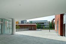 L'ingresso al cortile interno