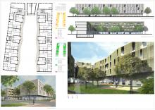 Residenza | Planimetria e viste