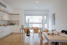 Foto della cucina comune