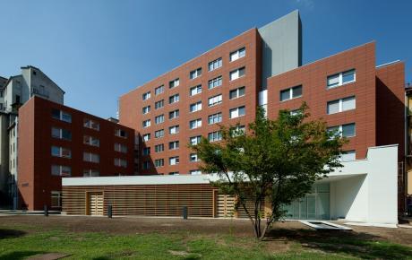 Foto dell'edificio visto dal cortile interno