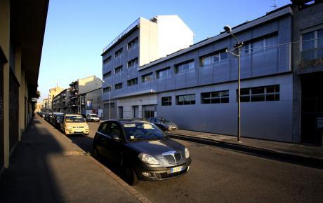 Foto della facciata principale su via Imperia