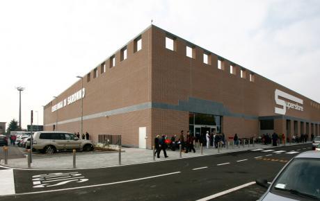 Foto dell'edificio commerciale realizzato