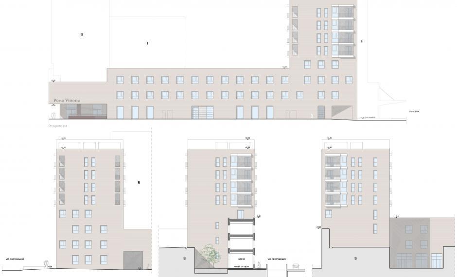 Edificio C | Prospetti