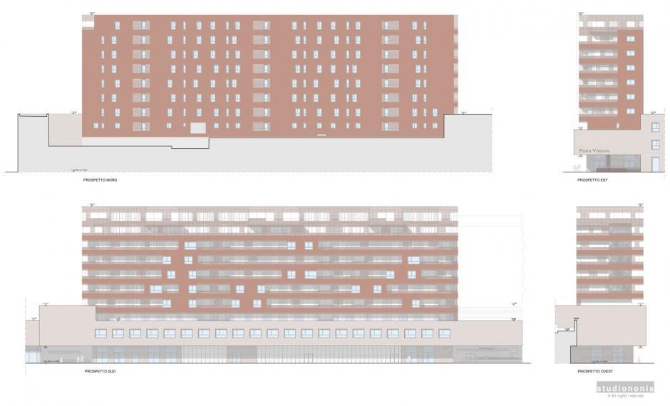 Edificio B | Prospetti