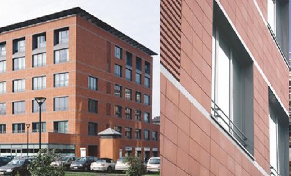 Foto dell'edificio realizzato