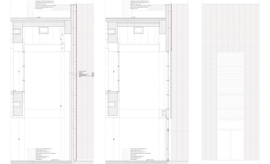 Edificio commerciale | Dettagli costruttivi